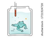 Illustration Boiling Frog In A...