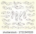 elegant elements of design... | Shutterstock .eps vector #1721549320