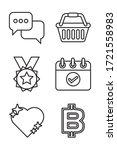 bundle of miscellaneous set...   Shutterstock .eps vector #1721558983