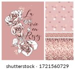collection of print and... | Shutterstock .eps vector #1721560729