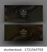 gold and silver elegand... | Shutterstock .eps vector #1721565703