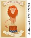 Zodiac Circus. Leo Sign. Circu...