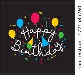 Happy Birthday Typographic For...