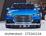 detroit   january 13   the audi ...   Shutterstock . vector #172161116