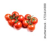 Several Fresh Tomatoes With...