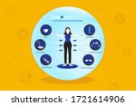 cartoon female character with... | Shutterstock .eps vector #1721614906