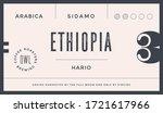 minimal label. typographic... | Shutterstock .eps vector #1721617966