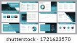 business presentation... | Shutterstock .eps vector #1721623570