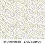 seamless floral pattern with... | Shutterstock .eps vector #1721638909