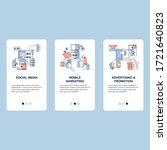 social media  adverting and... | Shutterstock .eps vector #1721640823