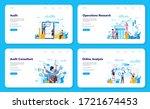 audit web banner or landing... | Shutterstock .eps vector #1721674453