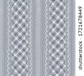 crewel embroidery lace...   Shutterstock .eps vector #1721678449