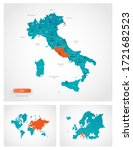 editable template of map of... | Shutterstock .eps vector #1721682523