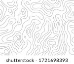 topographic line pattern in... | Shutterstock .eps vector #1721698393