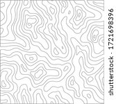 topographic line pattern in...   Shutterstock .eps vector #1721698396