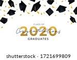congratulations graduates hats... | Shutterstock .eps vector #1721699809