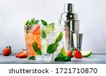 Fresh Mojito Cocktail Set With...