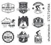 Set Of Bmx And Mtb Extreme...