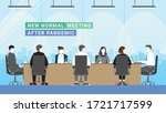 business people 7 persons...   Shutterstock .eps vector #1721717599