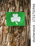 Flag With The Image Of Clover...