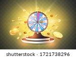 vector illustration spinning... | Shutterstock .eps vector #1721738296