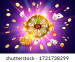 vector illustration spinning... | Shutterstock .eps vector #1721738299
