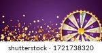 vector illustration spinning... | Shutterstock .eps vector #1721738320