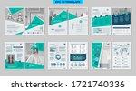 brochure creative design.... | Shutterstock .eps vector #1721740336