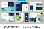 brochure creative design.... | Shutterstock .eps vector #1721740339