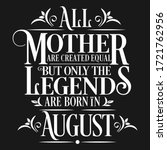 all mother are created equal... | Shutterstock .eps vector #1721762956