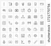 set of 49 ui icons and symbols...