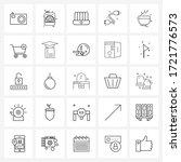 set of 25 ui icons and symbols...