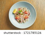 chilled sea bass carpaccio with ...