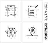 4 universal icons pixel perfect ...