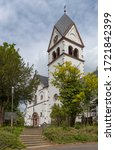 st. francis monastery church in ... | Shutterstock . vector #1721842399