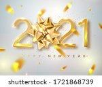 2021 happy new year vector...   Shutterstock .eps vector #1721868739
