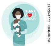 african american female happy...   Shutterstock .eps vector #1721902366
