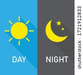 day and night long shadow. the... | Shutterstock .eps vector #1721912833