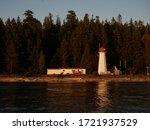 Lighthouse At Sunrise At...