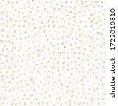 sparse confetti dotty paper...   Shutterstock .eps vector #1722010810