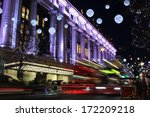 London At Night. Long Exposur...
