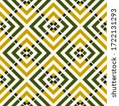 ethnic seamless pattern. folk... | Shutterstock .eps vector #1722131293