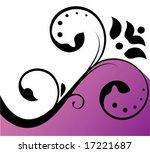 floral background | Shutterstock .eps vector #17221687