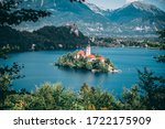 Sunshine Over Lake Bled In...