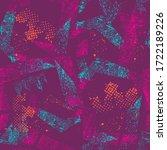 abstract seamless grunge... | Shutterstock .eps vector #1722189226