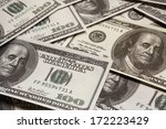 one hundred dollars  money  us | Shutterstock . vector #172223429