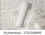 White Bottle Flacon Cosmetics...