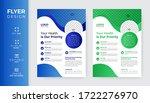 medical flyer template  modern...   Shutterstock .eps vector #1722276970