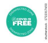 green round sticker for...   Shutterstock .eps vector #1722317653
