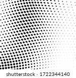 abstract wave halftone texture. ... | Shutterstock .eps vector #1722344140